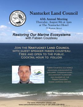 Annual Meeting - Nantucket Land Council