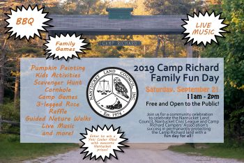 Camp Richard Family Fun Day - Nantucket Land Council