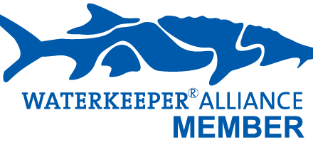 Waterkeeper Alliance Logo of a sturgeon