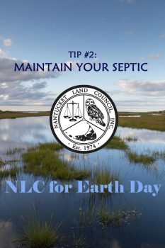 Tip #2: Maintain Your Septic! NLC for Earth Day.